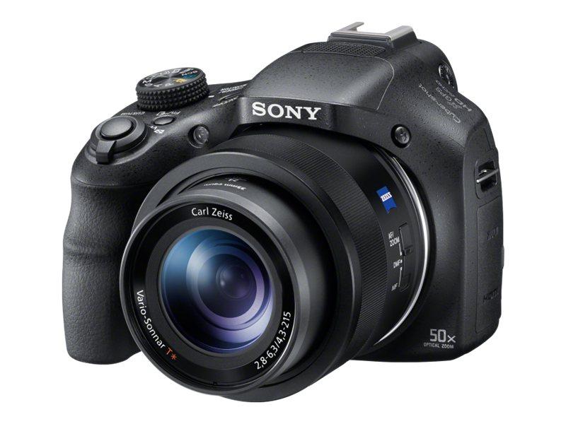 Sony Cyber-shot DSC-HX400V - Digitalkamera - Kompaktkamera - 20.4 MPix - 50x optischer Zoom - Carl Zeiss