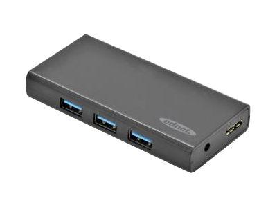 Ednet - Hub - 7 x SuperSpeed USB 3.0 - Desktop