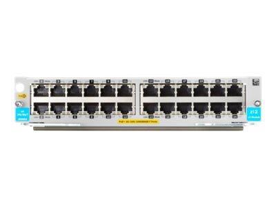 HPE - Erweiterungsmodul - Gigabit Ethernet (PoE+) x 24 - für HPE Aruba 5406R zl2, 5406R-44G-PoE+/2SFP+ v2, 5406R-44G-PoE+/4SFP v