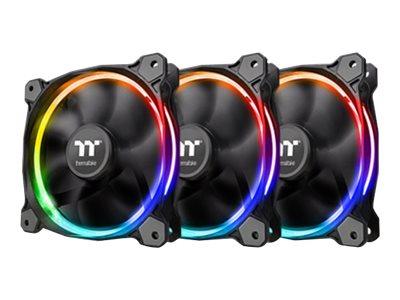 Thermaltake Riing 12 LED RGB Radiator Fan Sync Edition - Gehäuselüfter - 120 mm (Packung mit 3)