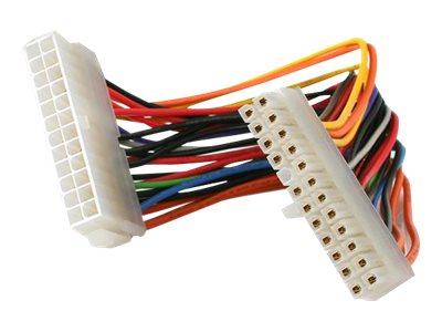StarTech.com 20cm 24 Pin ATX 2.01 Stromverlängerungskabel - Stecker/Buchse - Spannungsversorgungs-Verlängerungskabel - ATX, 24-p