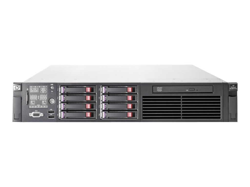 HPE ProLiant DL385 G5p - Server - Rack-Montage - 2U - zweiweg - 1 x Third-Generation Opteron 2376 HE / 2.3 GHz Highly Efficient