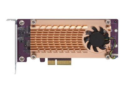 QNAP QM2-2P-244A - Speicher-Controller - PCIe Low-Profile - PCIe 2.0 x4 - für QNAP TS-1232, 1253, 1277, 253, 453, 473, 677, 832,