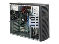 Supermicro SC732 D4F-903B - Midi Tower - Erweitertes ATX 900 Watt - Schwarz - USB/FireWire/Audio