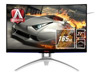 AOC Gaming AG272FCX6 - AGON Series - LED-Monitor - gebogen - 68.6 cm (27