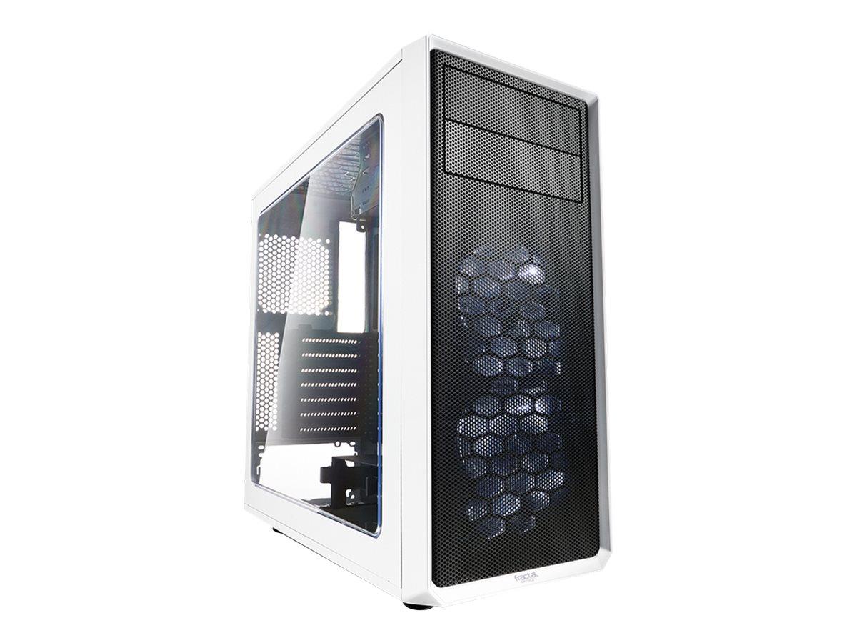 Fractal Design Focus Series G - Tower - ATX - ohne Netzteil (ATX) - weiss - USB/Audio
