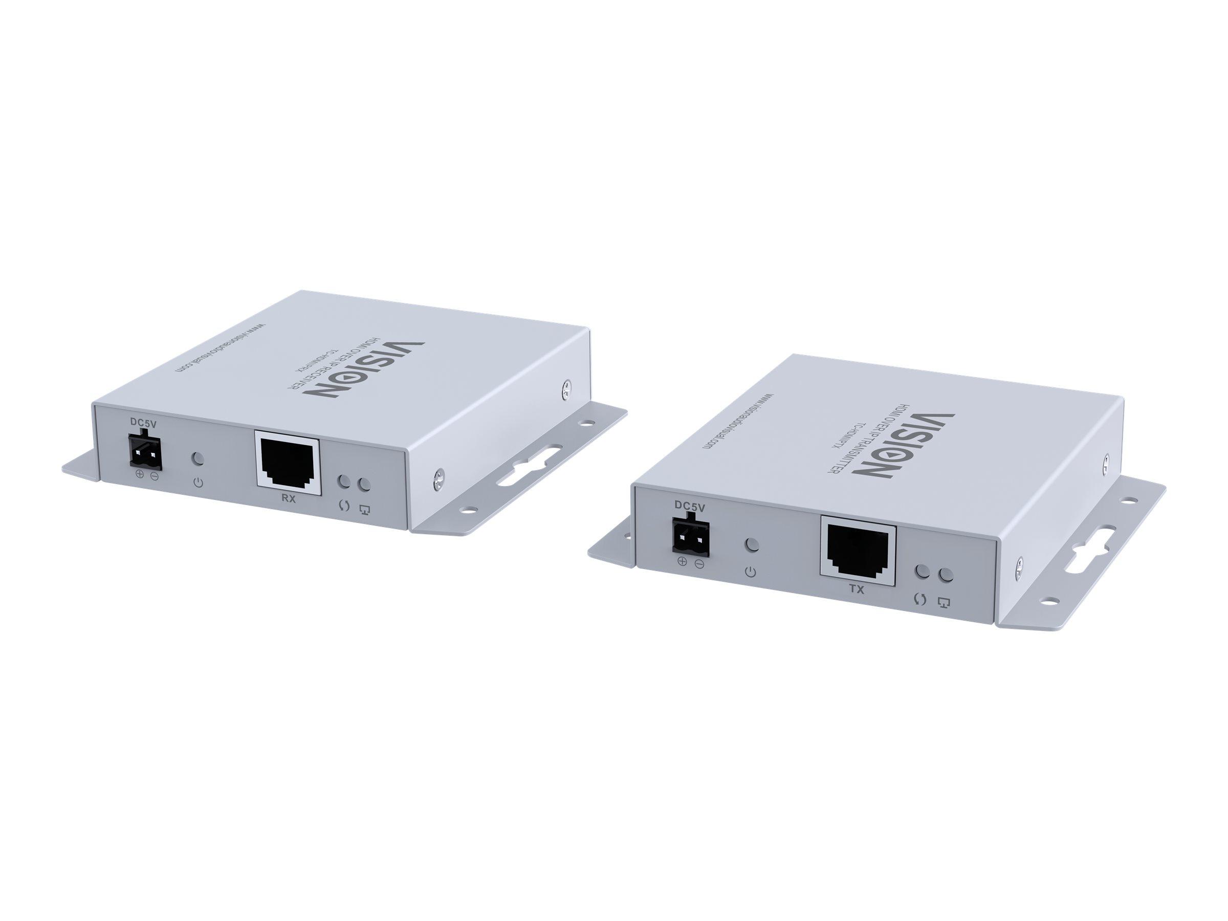VISION TC-HDMIIPRX - Video-/Audio-/Infrarot-Übertrager - HDMI - bis zu 120 m