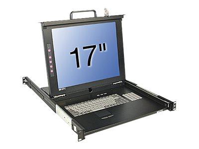 Lindy KVM Terminal Basic 17 Single Rail - KVM-Konsole - PS/2, USB - 43.2 cm (17