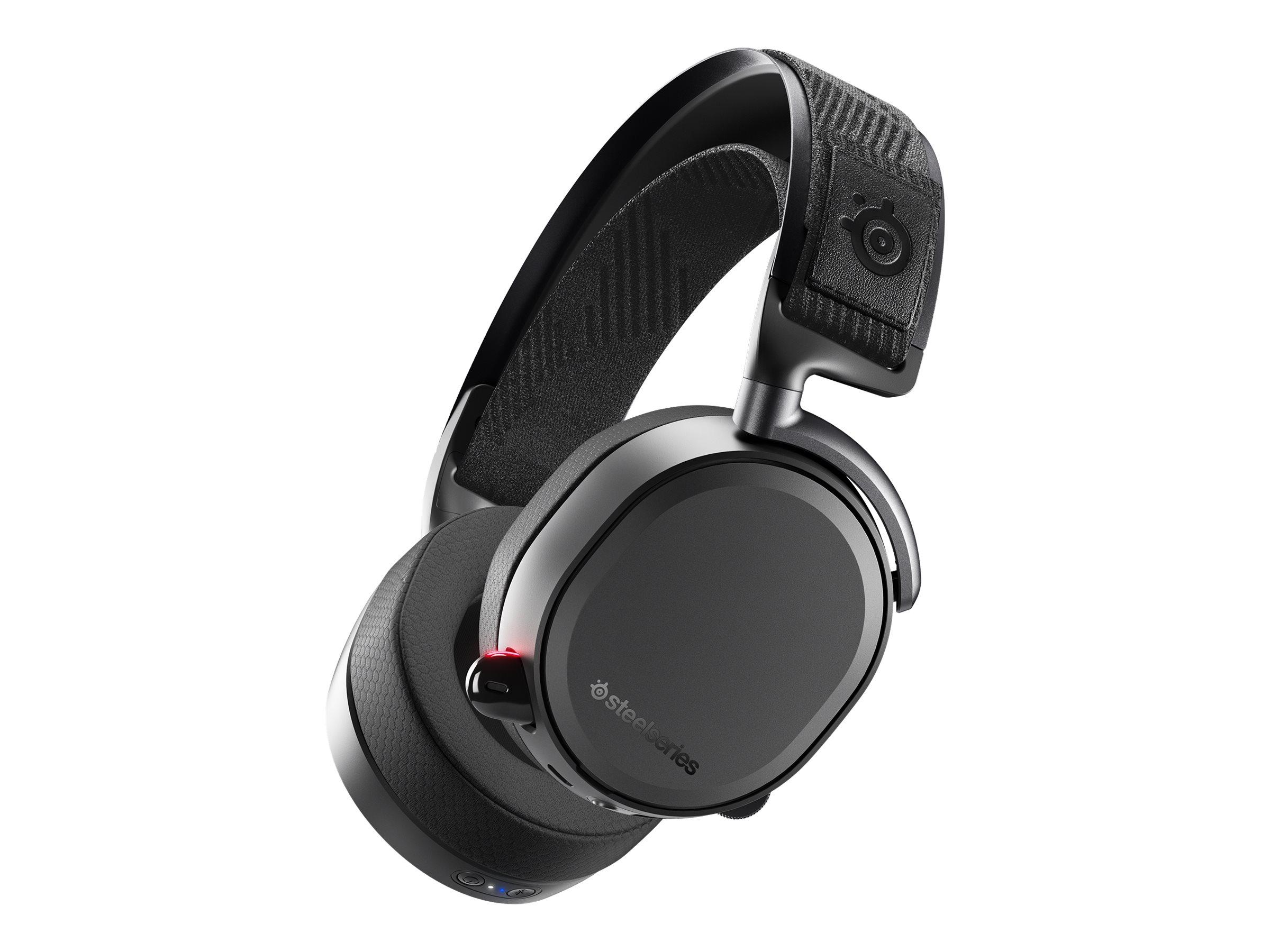 SteelSeries Arctis Pro Wireless - Headset - Full-Size - Bluetooth / 2,4 GHz Funkfrequenz - kabellos - weiss