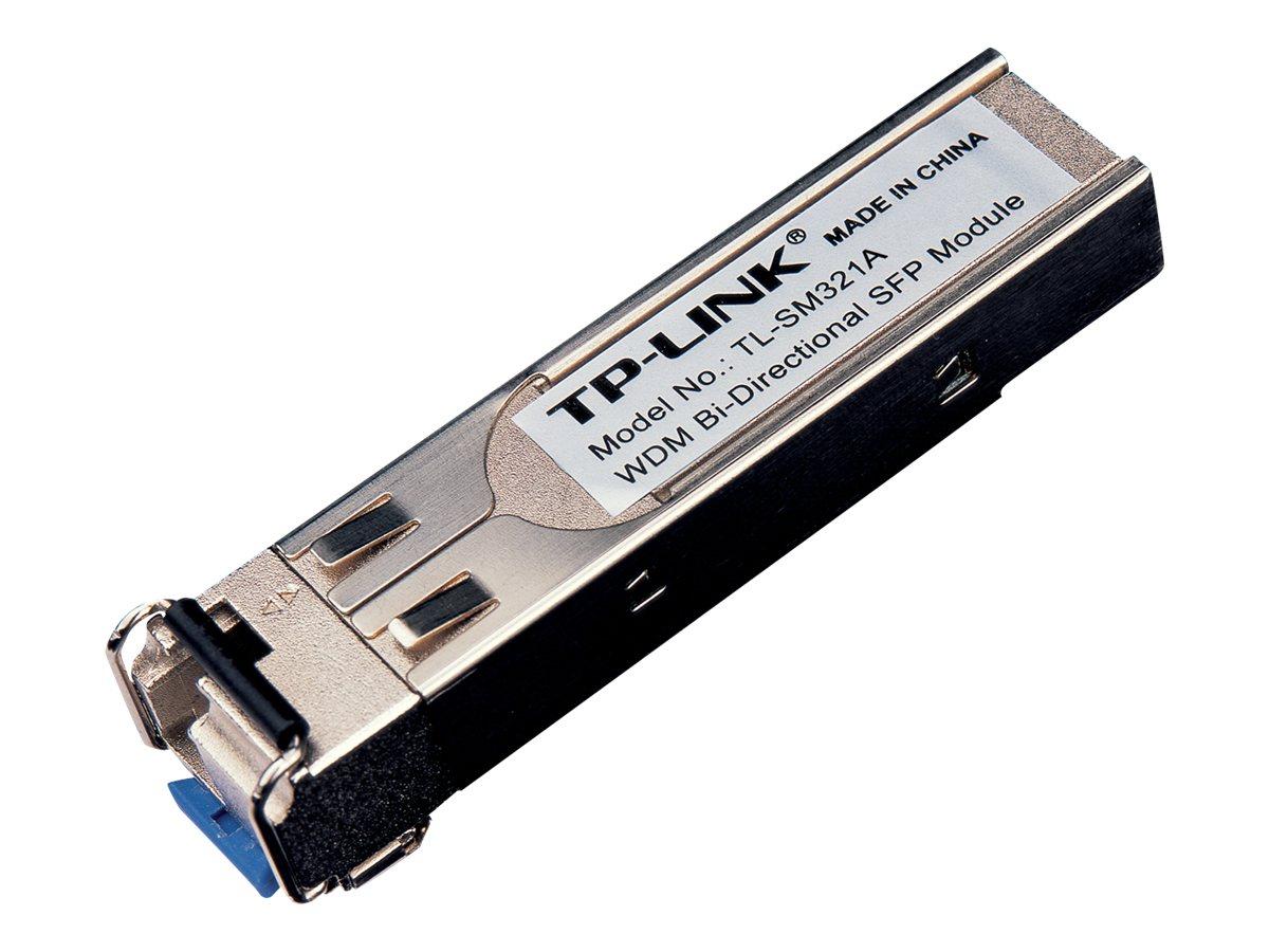 TP-Link TL-SM321A - SFP (Mini-GBIC)-Transceiver-Modul - GigE - 1000Base-BX - LC Single-Modus - bis zu 10 km