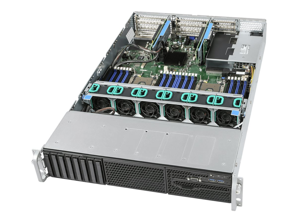 Intel Server System R2208WFTZSR - Server - Rack-Montage - 2U - zweiweg - RAM 0 GB
