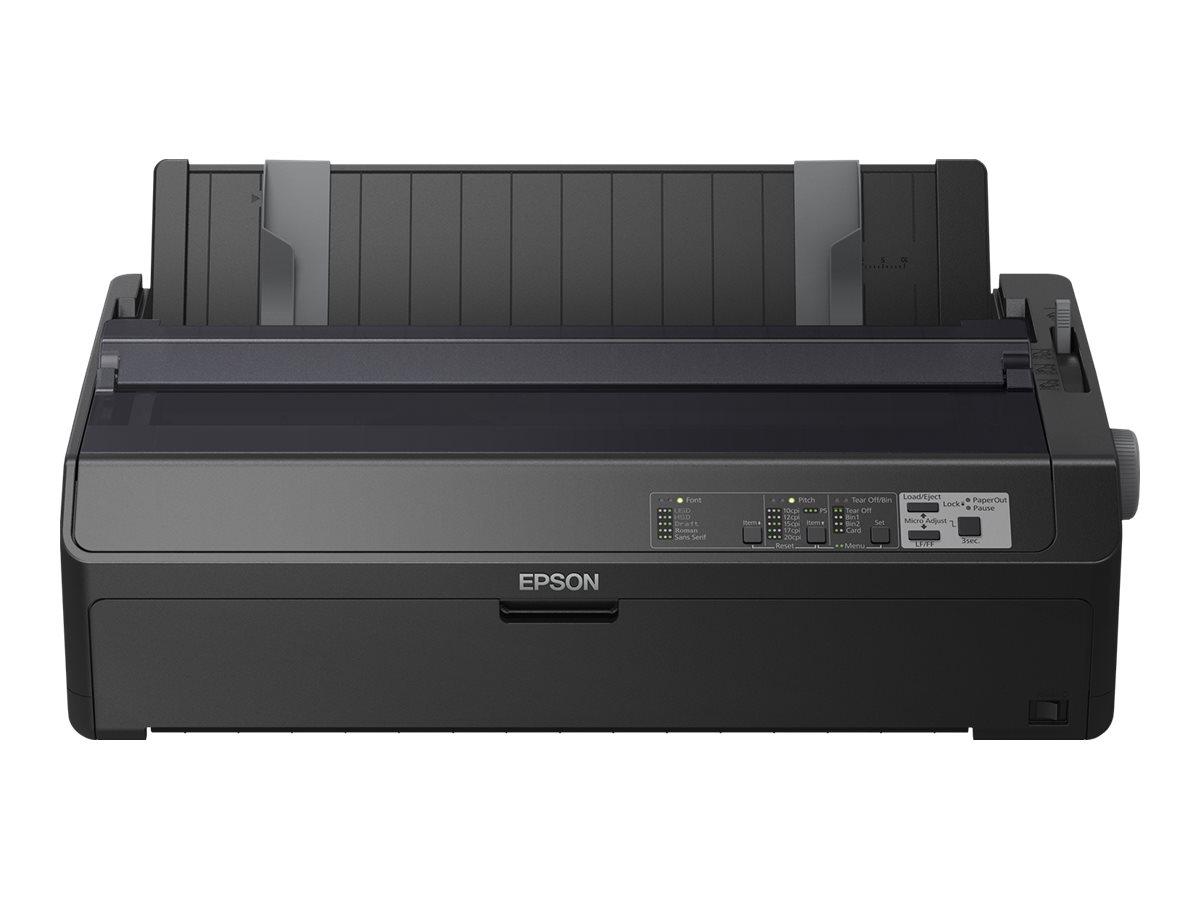 Epson FX 2190II - Drucker - monochrom - Punktmatrix - Rolle (21,6 cm), 406,4 mm (Breite), 420 x 364 mm - 240 x 144 dpi