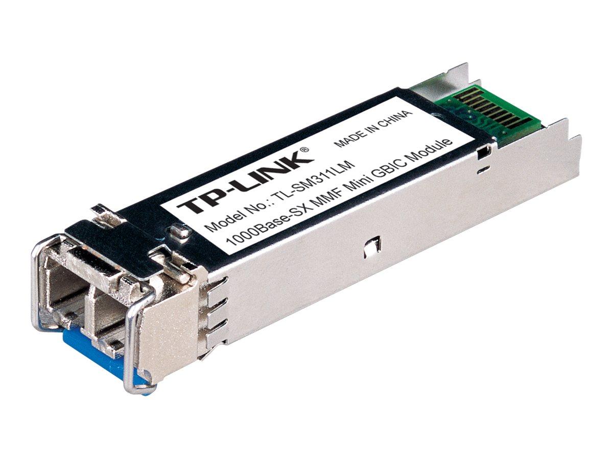 TP-Link TL-SM311LM - SFP (Mini-GBIC)-Transceiver-Modul - GigE - 1000Base-SX - LC Multi-Mode - bis zu 550 m