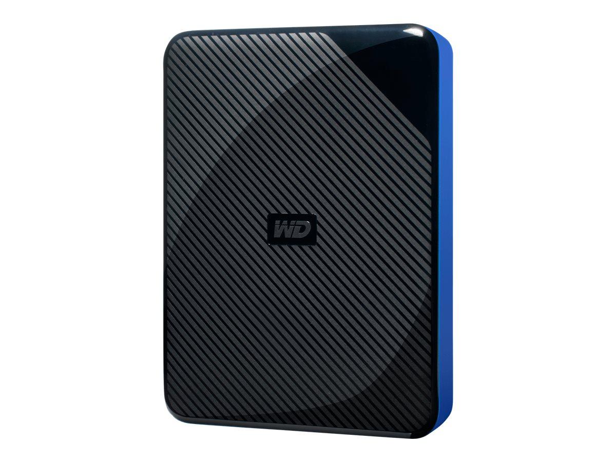 WD Gaming Drive WDBM1M0040BBK - Festplatte - 4 TB - extern (tragbar) - USB 3.0 - oben schwarz und unten blau