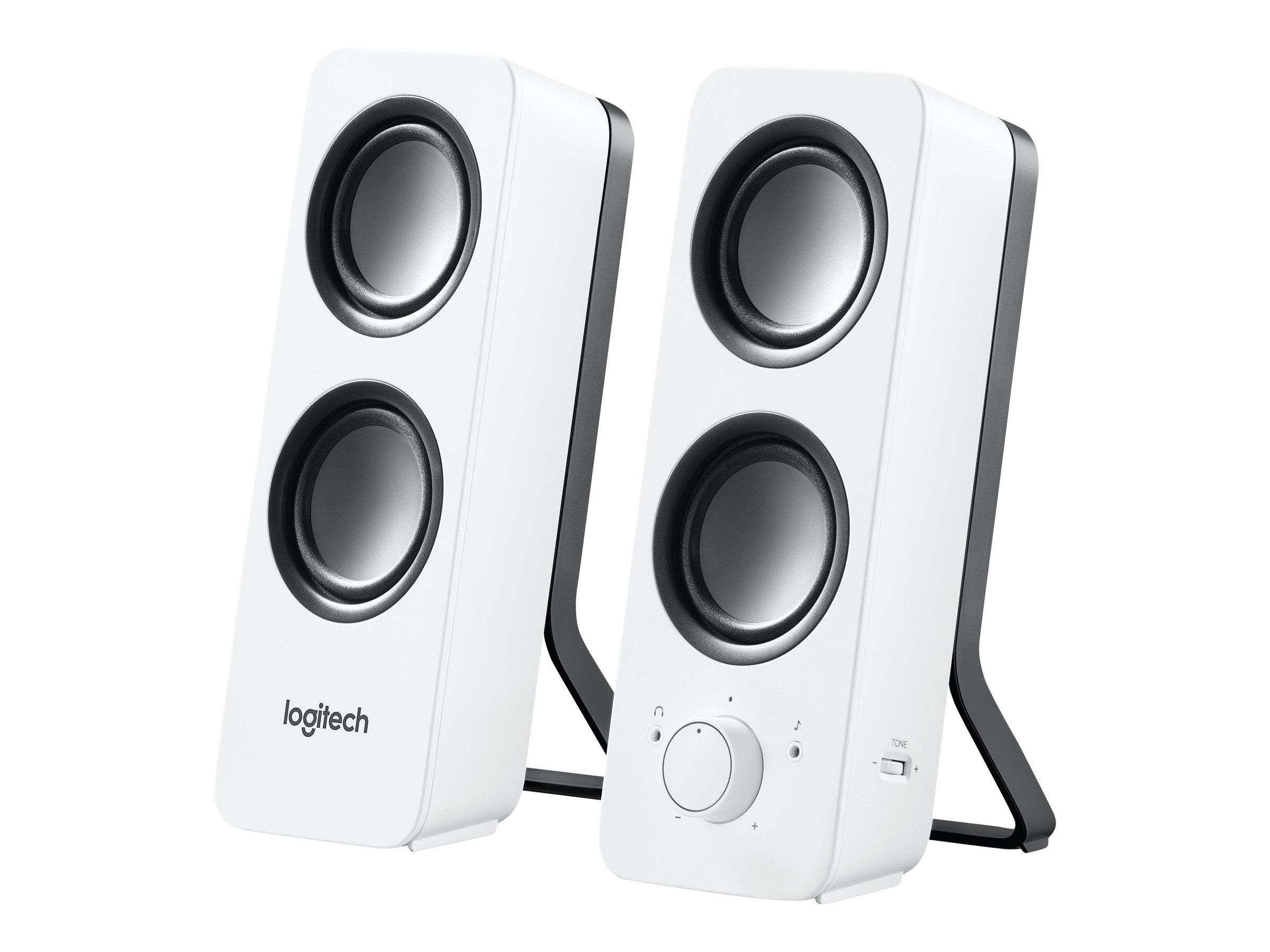 Logitech Z200 - Lautsprecher - weiss
