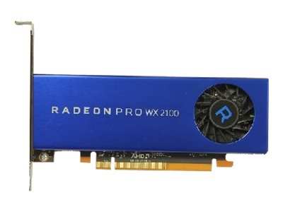 AMD Radeon Pro WX 2100 - Customer Kit - Grafikkarten - Radeon Pro WX 2100 - 2 GB - 2 x Mini DisplayPort, DisplayPort