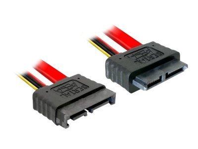 DeLOCK SATA Slimline cable - SATA-Kabel - Slimline SATA (M) bis Slimline SATA (W) - 30 cm