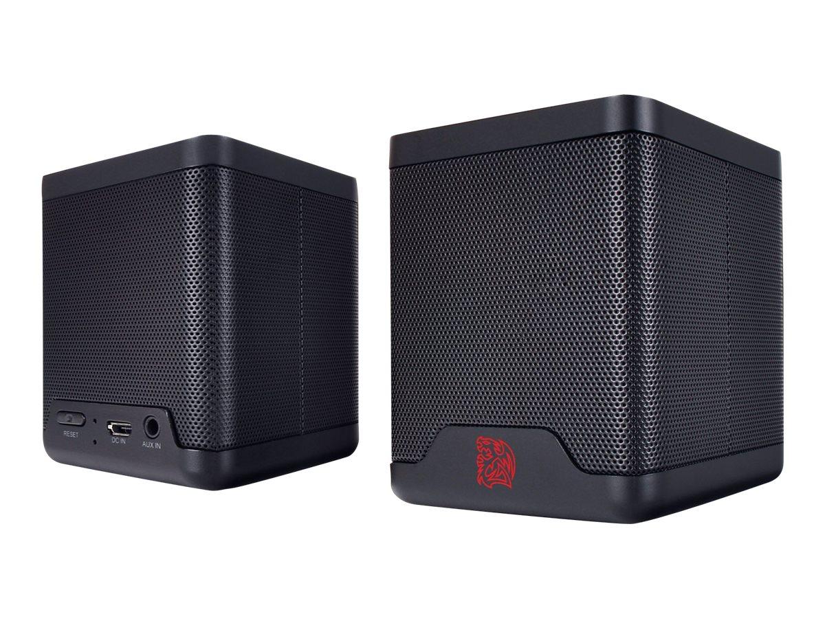 Tt eSPORTS Battle Dragon - Lautsprecher - tragbar - kabellos - Bluetooth - 6 Watt (Gesamt)