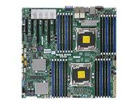 SUPERMICRO X10DRC-T4+ - Motherboard - verbessertes, erweitertes ATX - LGA2011-v3-Sockel - 2 Unterstützte CPUs - C612