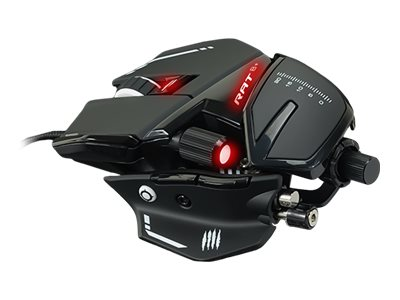 Mad Catz R.A.T.8+ - Maus - optisch - 11 Tasten - kabelgebunden - USB