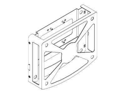 Cisco Protective Case Mount, Series 1 - Befestigungskit für AV-Empfänger - Deckenmontage, Wandmontage, Stangenbefestigung - für