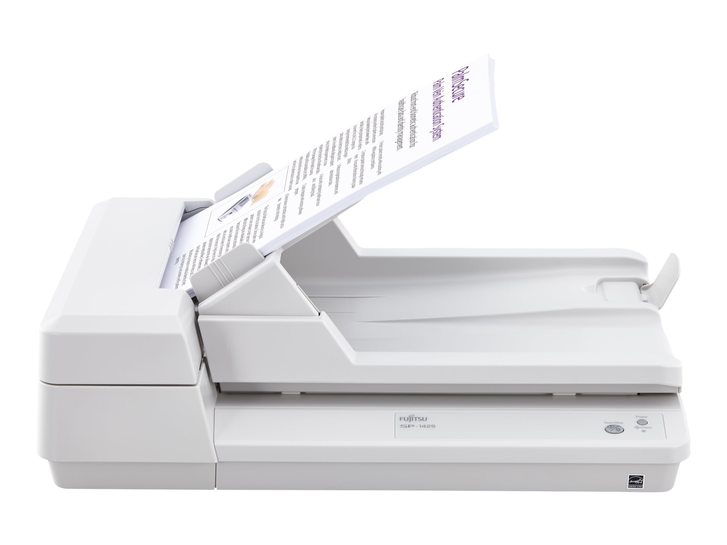 Fujitsu SP-1425 - Dokumentenscanner - Duplex - A4 - 600 dpi x 600 dpi - bis zu 25 Seiten/Min. (einfarbig) / bis zu 25 Seiten/Min