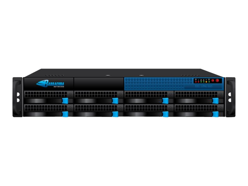 Barracuda SSL VPN 880 - VPN-Gateway - GigE - 2U - Rack-montierbar