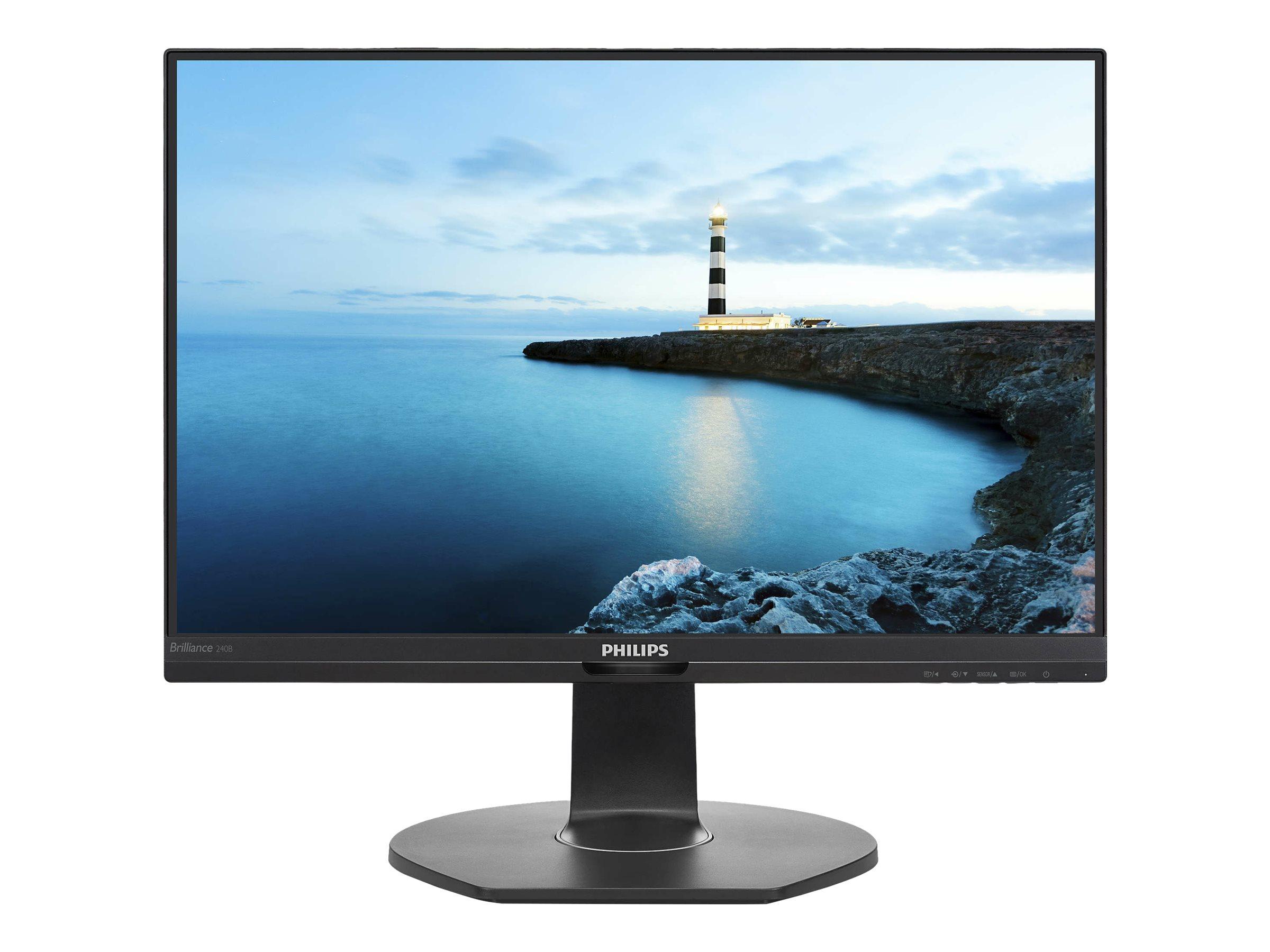 Philips Brilliance B-line 240B7QPJEB - LED-Monitor - 60 cm (24
