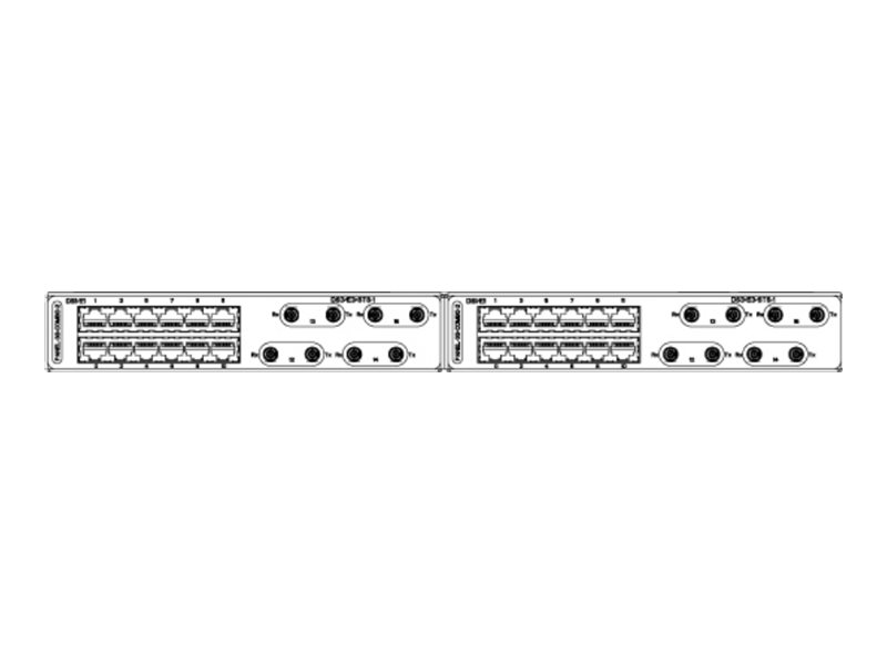 Cisco Dual - Patch Panel - E1 x 24, DS-3 x 8 - für ASR 920, 920U