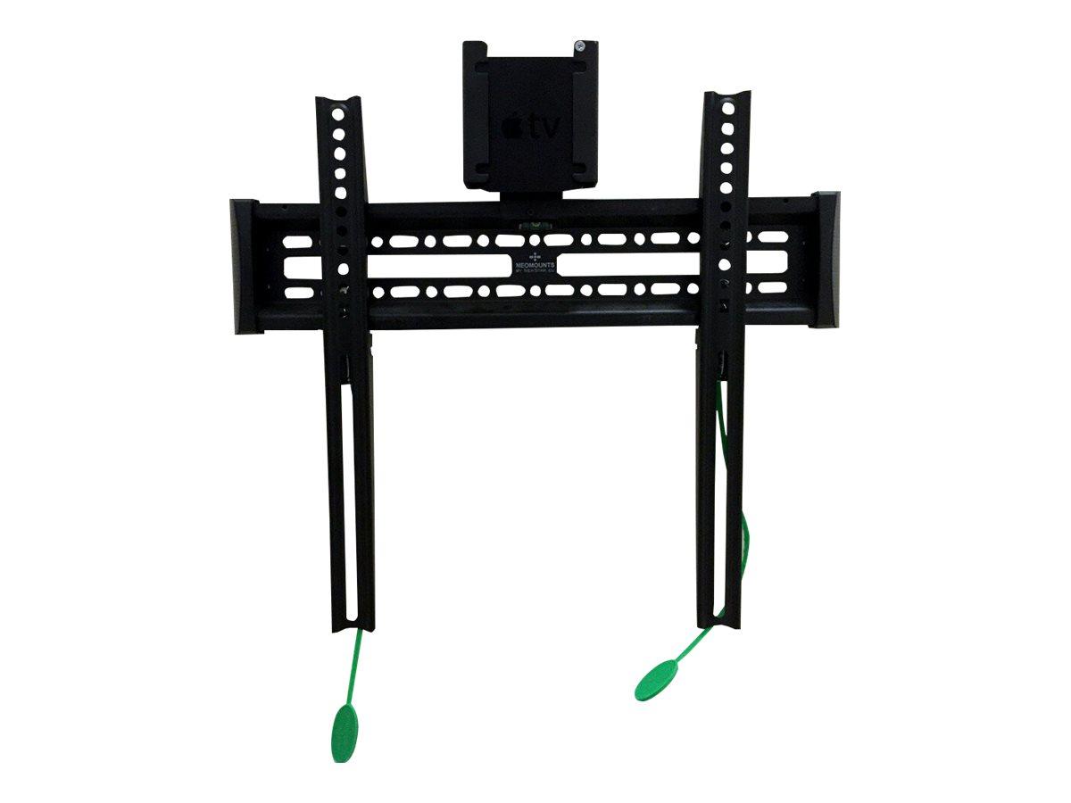 NewStar NS-ATV100 - Befestigungskit für Apple TV - verriegelbar - Schwarz - Montageschnittstelle: 75 x 75 mm - Oberflächenmontag