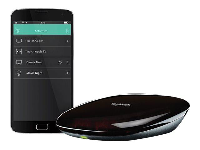 Logitech HARMONY HUB - Zentrale Steuerung - kabellos - Bluetooth, 802.11b/g/n