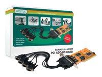 DIGITUS DS-33002-1 - Serieller Adapter - PCI - RS-232 x 4