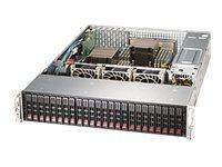 Supermicro SuperStorage Server 2028R-ACR24H - Server - Rack-Montage - 2U - zweiweg - RAM 0 MB