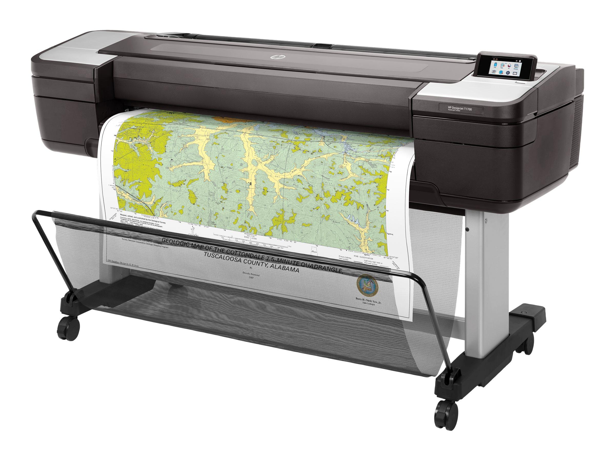 HP DesignJet T1700 - 1118 mm (44