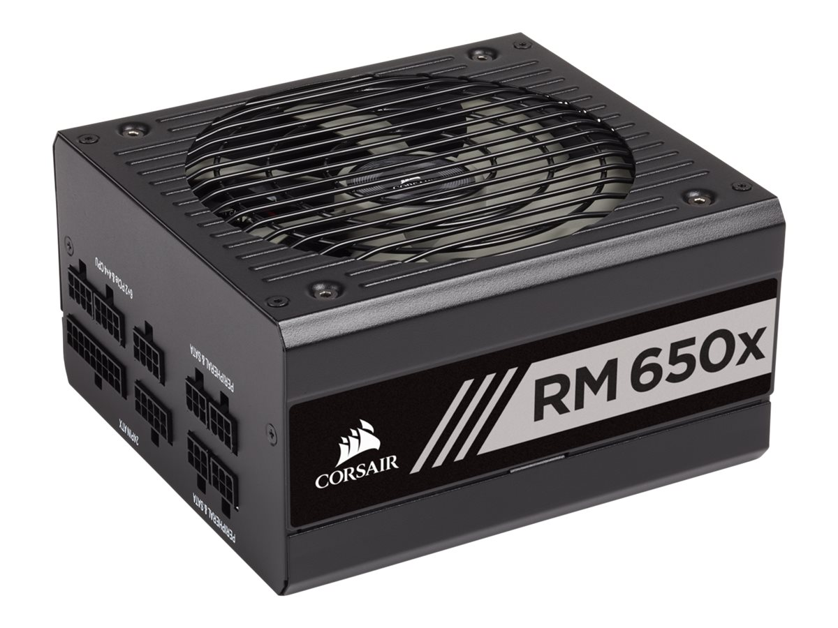 CORSAIR RMx Series RM650x - 2018 Edition - Stromversorgung (intern) - ATX12V 2.4/ EPS12V 2.92 - 80 PLUS Gold - Wechselstrom 100-