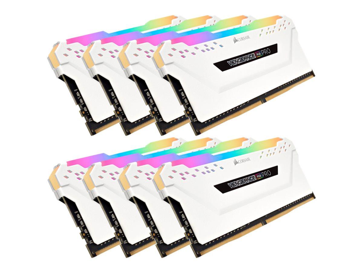 CORSAIR Vengeance RGB PRO - DDR4 - 64 GB: 8 x 8 GB - DIMM 288-PIN - 3200 MHz / PC4-25600 - CL16