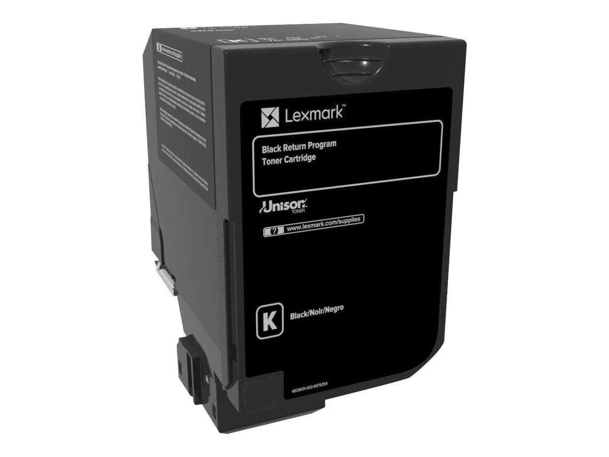 Lexmark - Schwarz - Original - Tonerpatrone LCCP, LRP - für Lexmark CS720de, CS720dte, CS725de, CS725dte, CX725de, CX725dhe, CX7