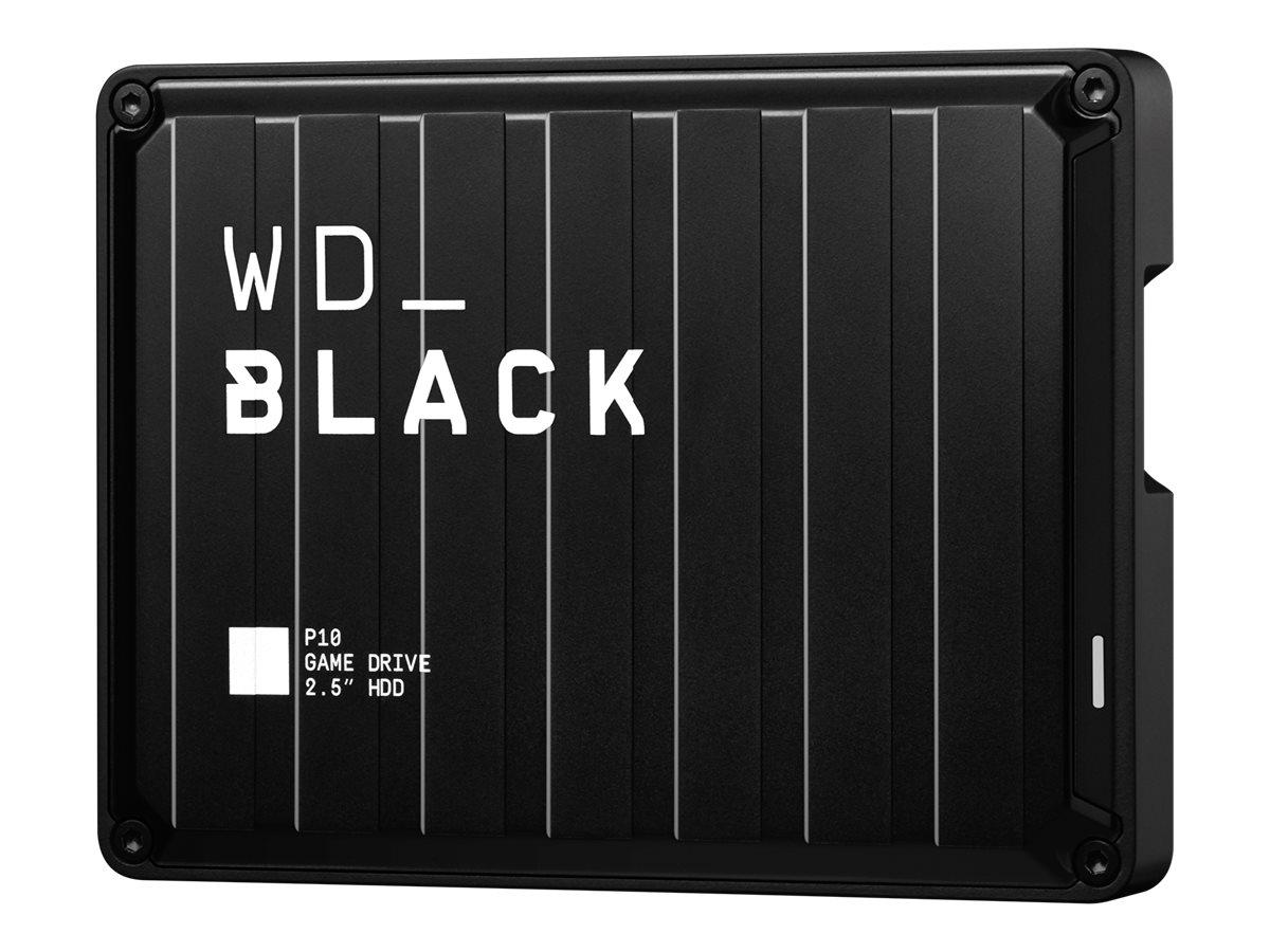 WD_BLACK P10 Game Drive WDBA3A0050BBK - Festplatte - 5 TB - extern (tragbar) - USB 3.2 Gen 1 - Schwarz