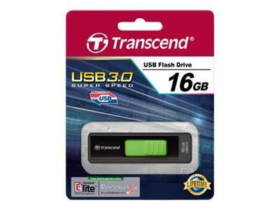 Transcend JetFlash 760 - USB-Flash-Laufwerk - 16 GB - USB 3.0 - Elegant Black