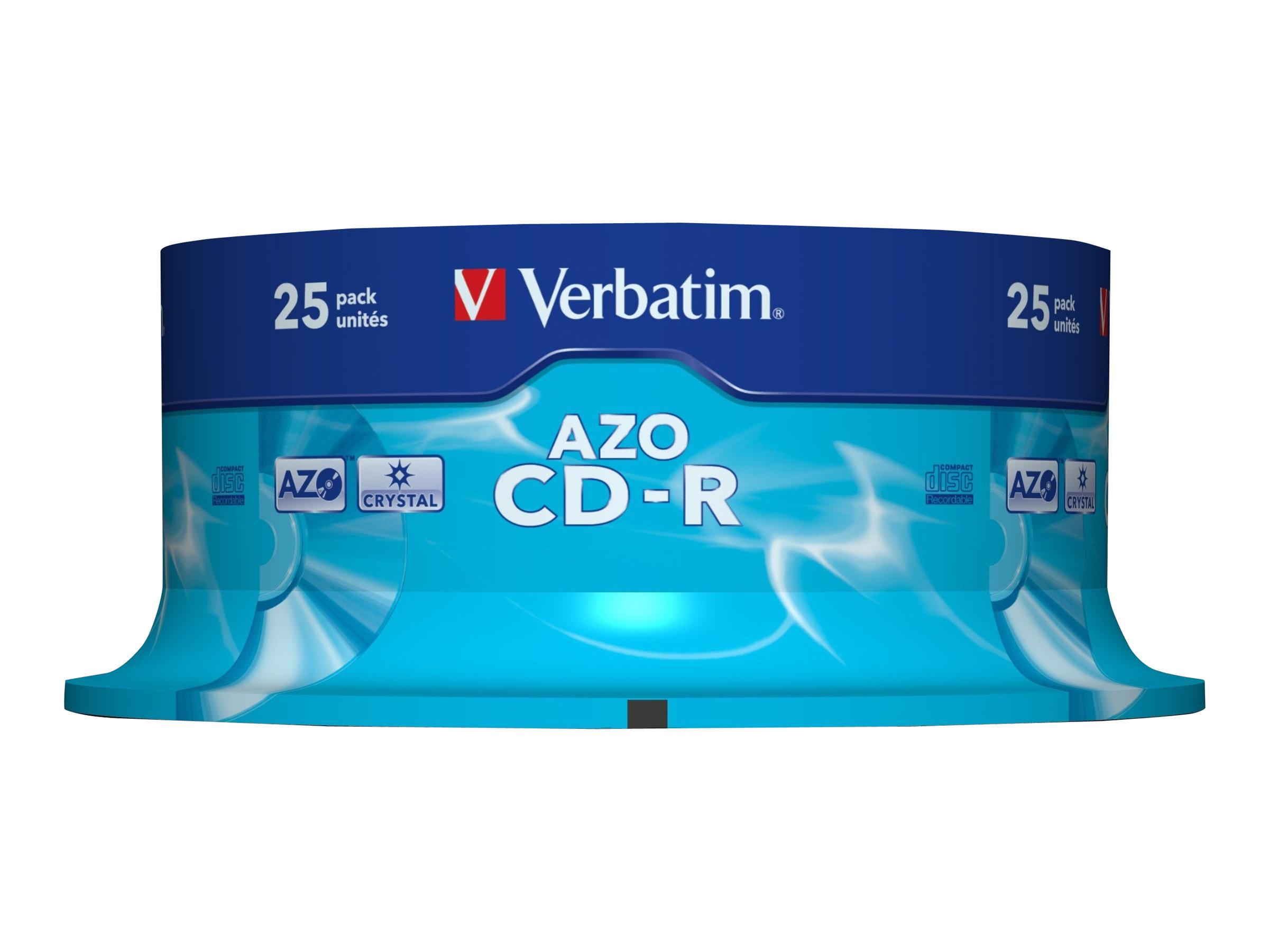 Verbatim - 25 x CD-R (80 Min) 48x