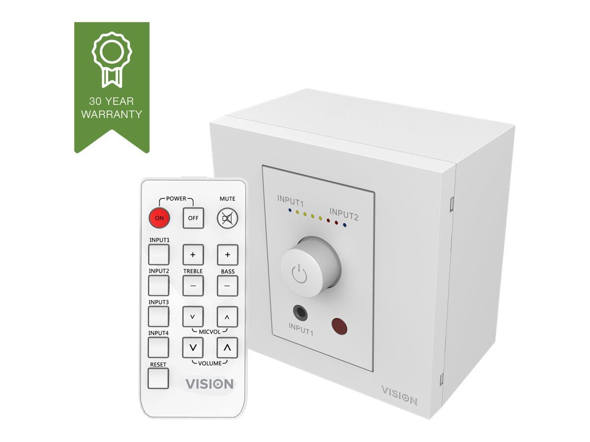 Vision TC3-AMP - Verstärker - 50 Watt (Gesamt) - weiss