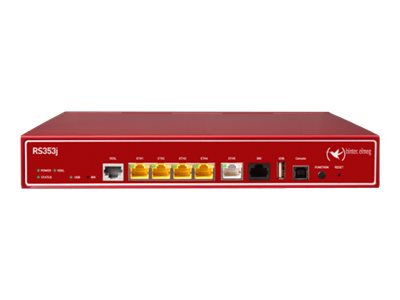 BinTec RS353jv - Router - ISDN/DSL - 5-Port-Switch - ATM, GigE - an Rack montierbar