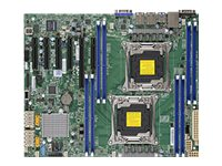 SUPERMICRO X10DRL-i - Motherboard - ATX - LGA2011-v3-Sockel - 2 Unterstützte CPUs - C612