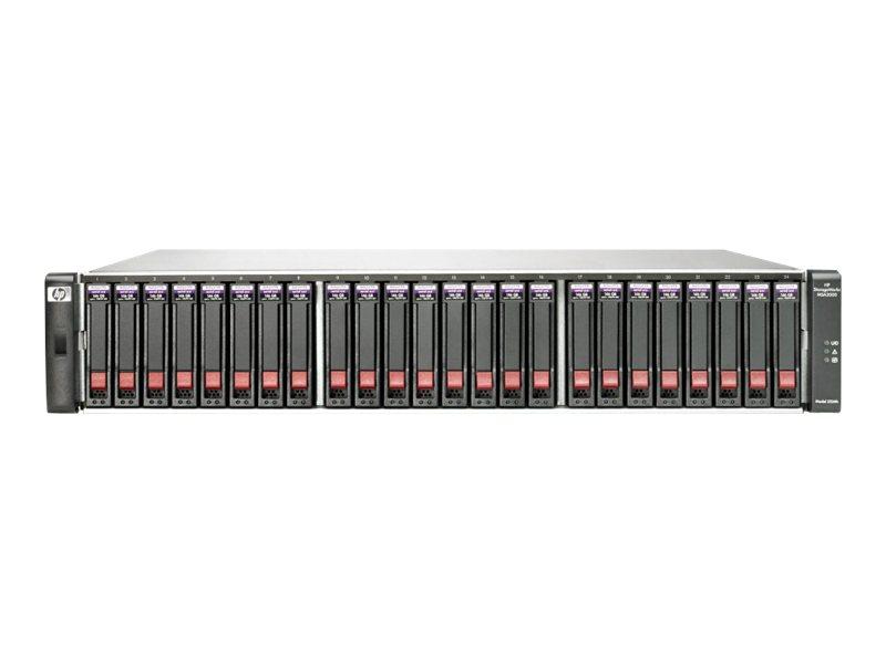 HPE StorageWorks Modular Smart Array 2312i G2 Dual Controller - Festplatten-Array - 12 Schächte (SATA-300 / SAS) - HDD x 0 - iSC