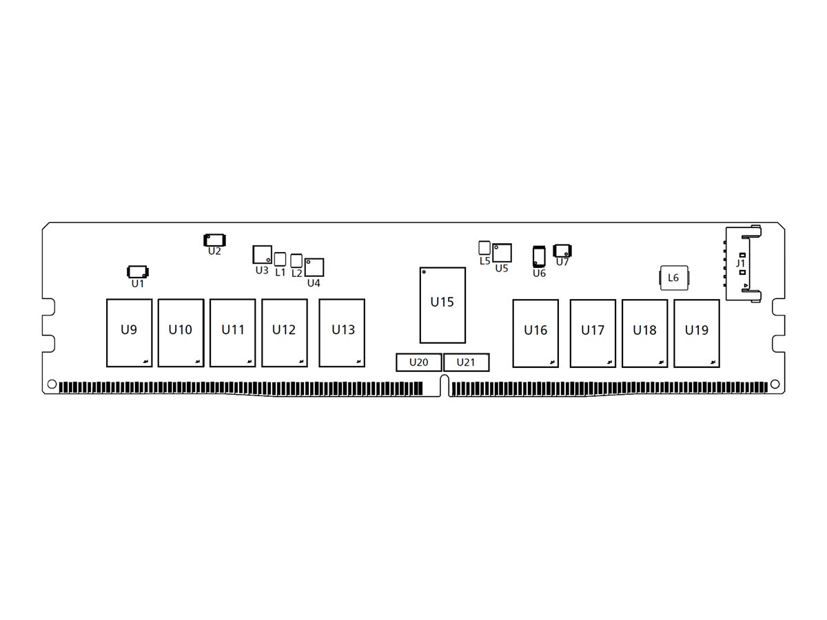 Micron - DDR4 - Modul - 16 GB - NVDIMM 288-polig - 3200 MHz / PC4-25600