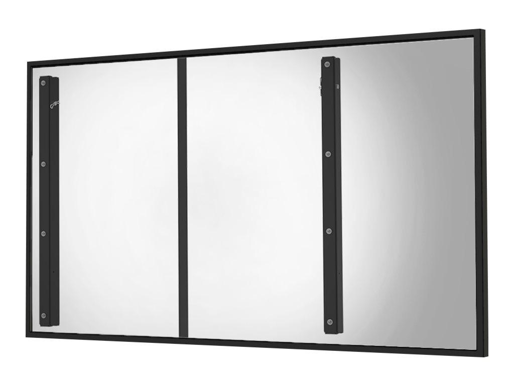 Peerless-AV Outdoor Flat Wall Mount EWL-OH75F - Wandhalterung für Digital Signage LCD-Display - Schwarz - Bildschirmgrösse: 190.