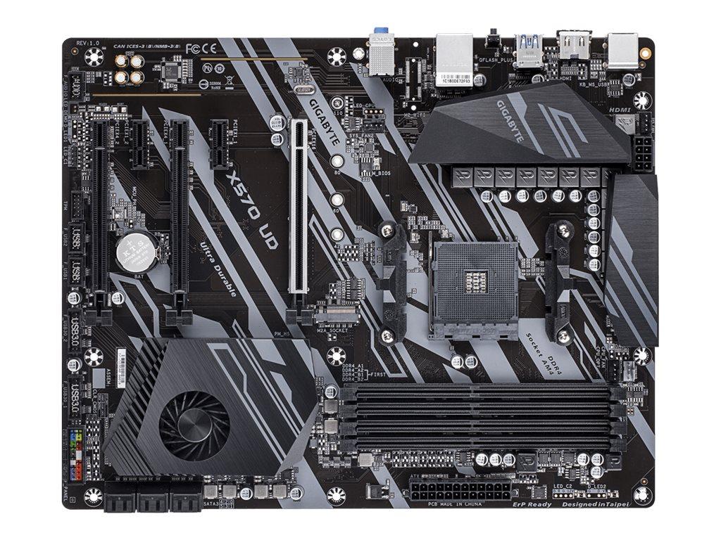 Gigabyte X570 UD - 1.0 - Motherboard - ATX - Socket AM4 - AMD X570