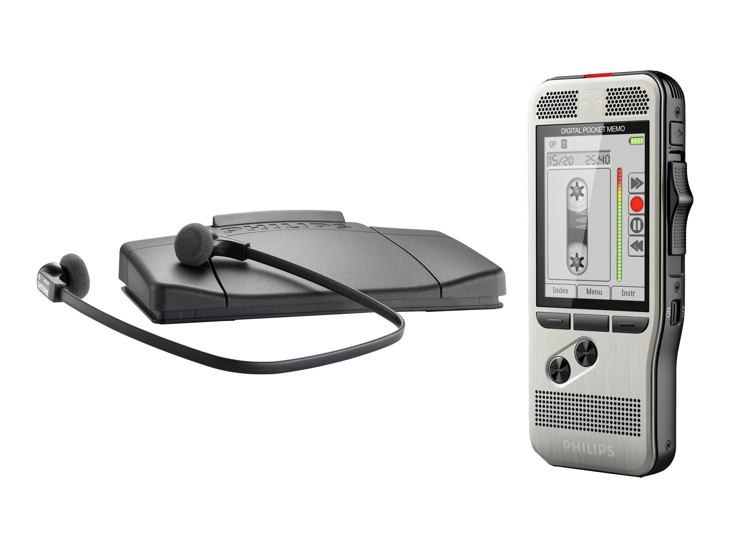 Philips Pocket Memo DPM7700 - Voicerecorder - 200 mW