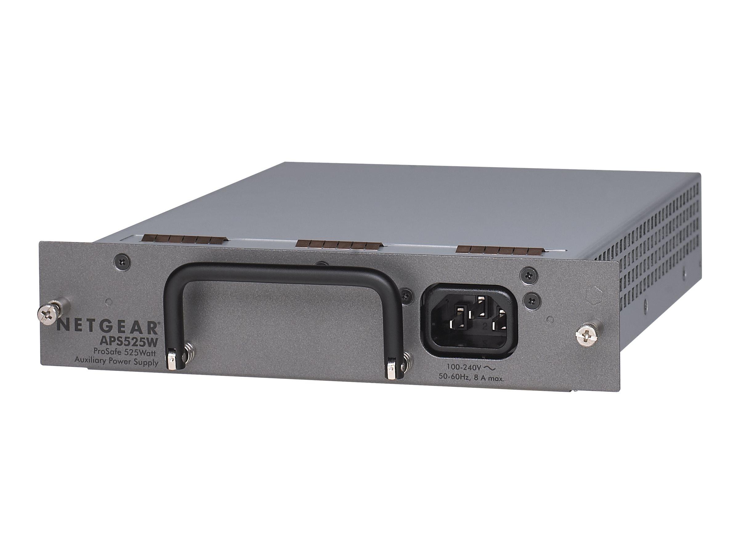 NETGEAR Prosafe APS300W Auxiliary Power Supply - Stromversorgung redundant / Hot-Plug (Plug-In-Modul) - 300 Watt - für NETGEAR X