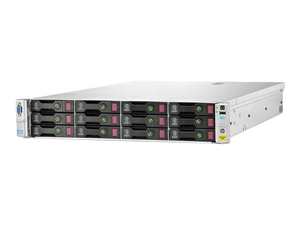 HPE StoreVirtual 4530 - Festplatten-Array - 48 TB - 12 Schächte (SAS-2) - HDD 4 TB x 12 - iSCSI (1 GbE), iSCSI (10 GbE) (extern)